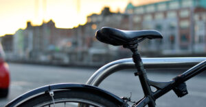 Picture of a bike seat for Determining Liability for Bicycle Accidents